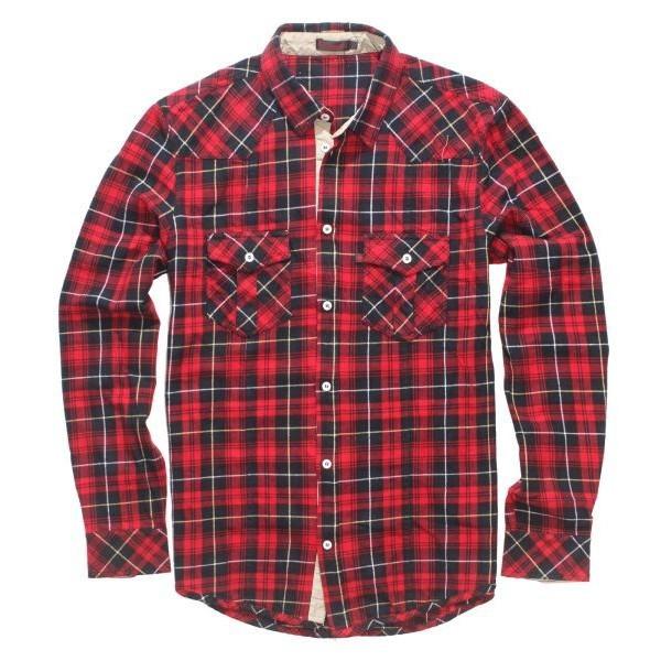 Мужские Клетчатые Рубашки